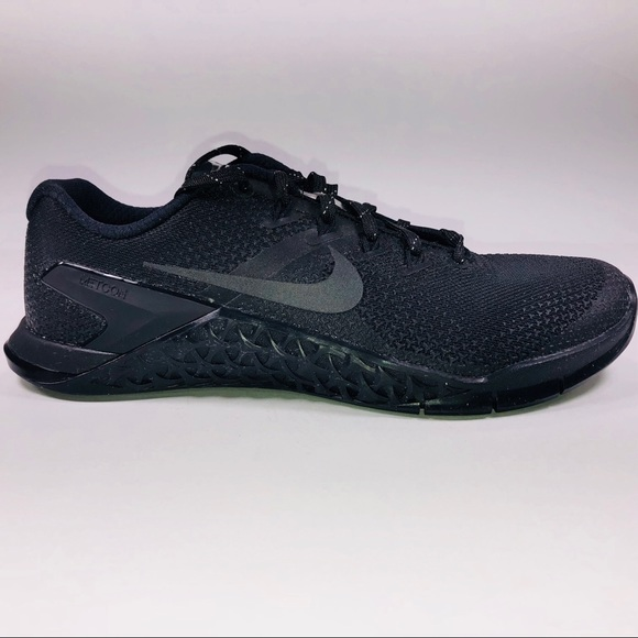 super popular 3353a 1b803 Womens Nike Metcon 4 Selfie Black   Chrome Sneaker